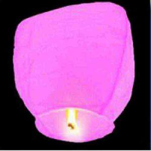 Китайский фонарик (розовый)