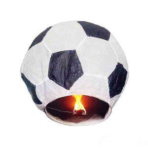 Китайский фонарик Футбольный мяч