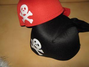 Бандана пирата с хвостиком