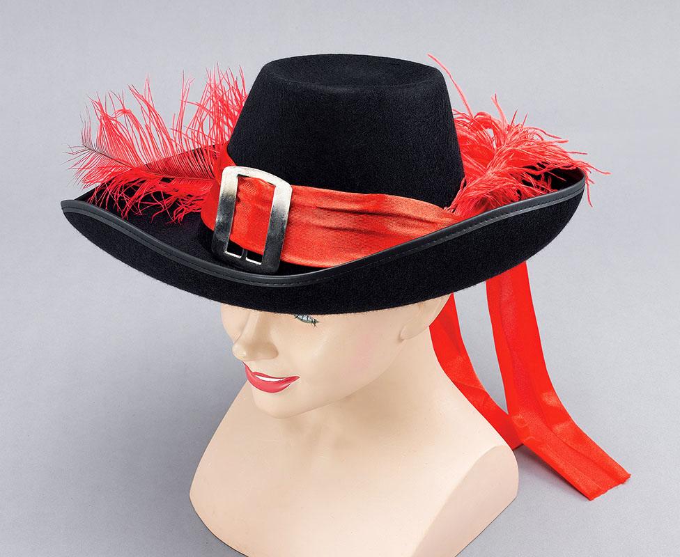 Шляпа с перьями своими руками 378