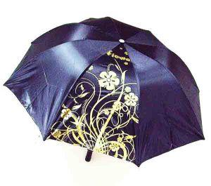 Зонт в бутылке  с цветами