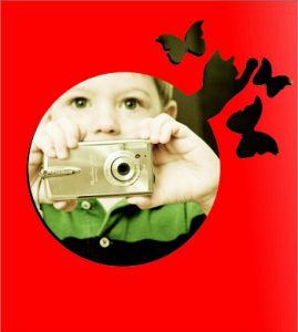 "Зеркало ""Охота на бабочек"""