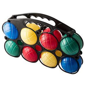 Петанк пластиковый (8 шаров, Пляжный набор)