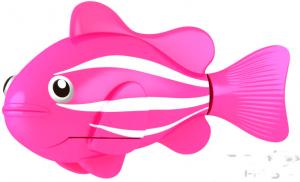Роборыбка светящаяся (розовая)