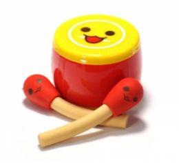 Точилка  Барабан с палочками (желтая)