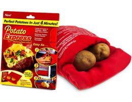 Мешок для запекания картошки в микроволновке