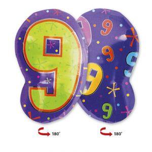Шар фигура цифра 9