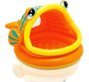 """Надувной бассейн """"Ленивая рыбка"""" (124х71 см)"""