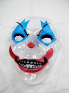 Маска прозрачная Злой Клоун