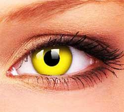 """Линза """"Желтый глаз"""""""