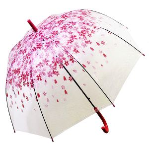 Зонт Цветы красные