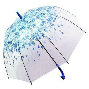 Зонт Цветы синие