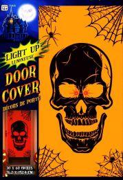 Покрытие на дверь Череп свет.