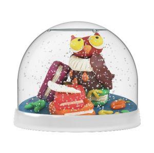 Создай Волшебный шар со снегом Совы