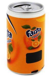 Колонка банка Fanta с дисплеем
