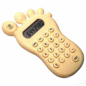 Калькулятор  в виде ступни