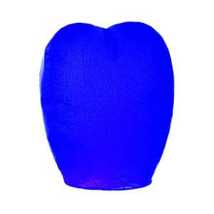 Китайский фонарик (синий)