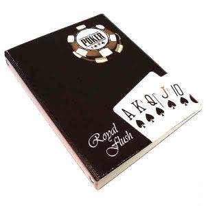 """Обложка для тетрадных блоков """"Покер"""""""