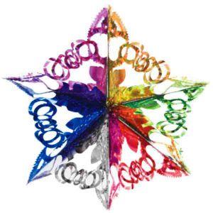 «Резная звездочка», диаметр 35см