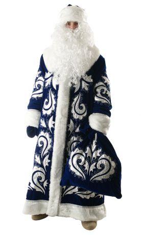 Костюм Деда Мороза  Боярский бархат2