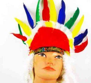 Перья индейца