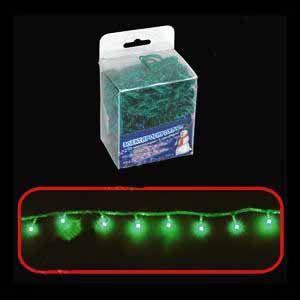 100 микроламп  (зелёная, с контроллером)