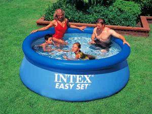 Надувной бассейн Intex (244 см х 76 см.)