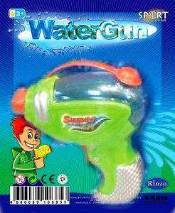 Оружие водное на блистере, зелёный цвет