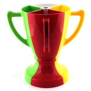 Кубок 4 бокала (разноцветный)