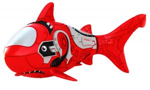 Роборыбка-акула (красная)