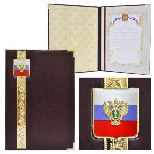 Представительская папка «Эксклюзив» с гербом Прокуратуры РФ