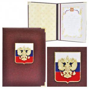 Представительская папка «Премиум» с триколором
