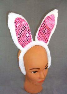 Уши кролика на ободке
