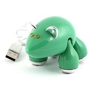 Разветвитель HUB Мышь (зеленый)