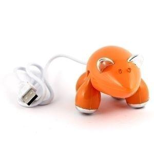 Разветвитель HUB Мышь (оранжевый)