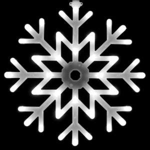 """""""Снежинка белая"""", 40см"""