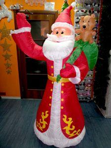 "Надувная фигура ""Дед Мороз Старый "",1,8м"