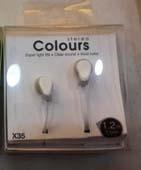 Наушники Colours белые