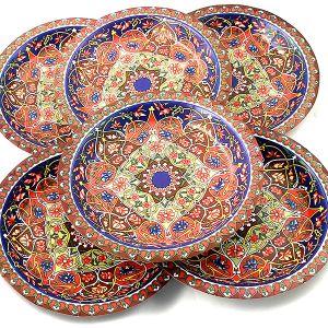 """Набор тарелок """"Разноцветная"""""""