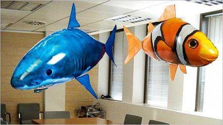 Радиоуправляемые рыбы-шары