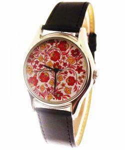 Прикольные наручные часы Red & yellow