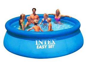 Надувной бассейн 396х84см, INTEX