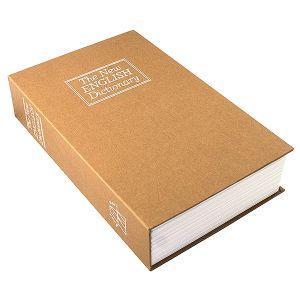 Книга-сейф Английский словарь (коричневая, 24 см )