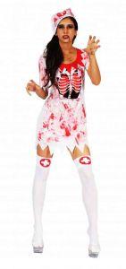 Платье медсестры кровавое
