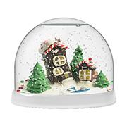 Создай Волшебный шар со снегом Домики
