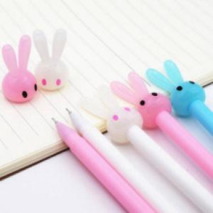 Ручка Заяц белый (пишет и стирает)