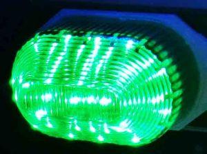 LED-строб накладной, зеленый