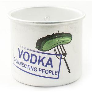 Кружка алюминиевая Vodka