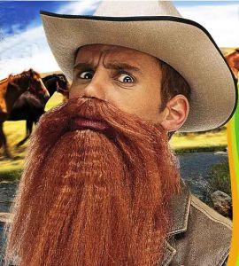 Борода с усами и губами