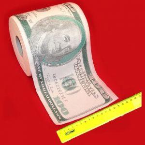 Туалетная бумага - 100 $